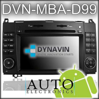MBA Sat Nav/Bluetooth/iPod/DVD/CD/Radio/Android/WiFi for VW Crafter