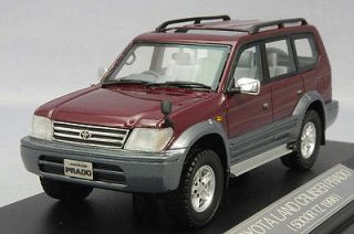43 Hi Story Model Toyota Land Cruiser Prado 5DOOR TZ 1996 Red