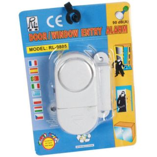 90db DOOR WINDOW ENTRY ALARM Wireless Magnetic Alert