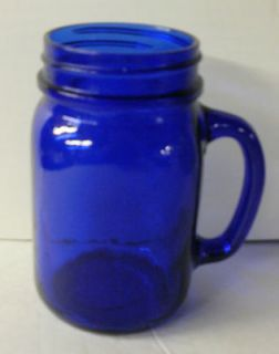 cobalt blue drinking glasses in Pottery & Glass