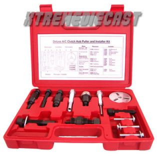AIR CONDITIONING COMPRESSOR CLUTCH SERVICE TOOL KIT