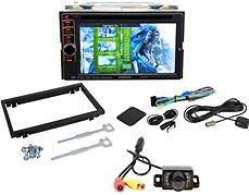 Kenwood DNX6190HD Double Din Monitor Car DVD USB Player Navigation+Bac