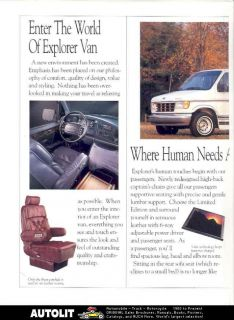 used ford conversion vans in E Series Van