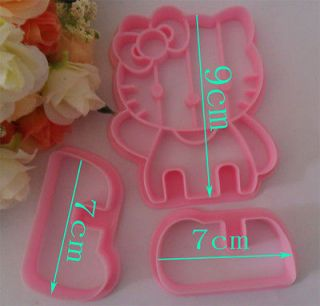 hello kitty shape cake cookies machine plunger paste sugar craft