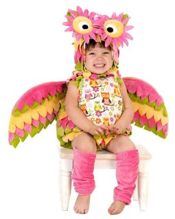 Paradise HOOTIE the OWL Costume Baby Infant Toddler Child 6m XS 3T 4T