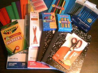 To School SuppliesPens, Pencils, Crayons, Paper, Folders & Much More
