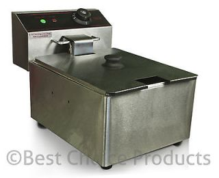 Deep Fryer Electric 2500 Watt Commercial Unit Restaurant Frying Deep