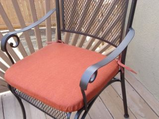 OUTDOOR PATIO DINING FURNITURE CHAIR SEAT CUSHION