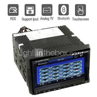Newly listed Double 2 Din Car DVD Player 7 Inch LCD Touch Screen Auto