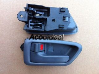 01 Toyota Camry Gray Inside Door Handle Driver Side LH 100%FDB USA FS