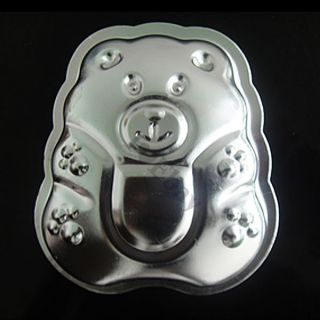 3D Teddy Bear Cake Pan Baking Fondant Cookie Chocolate Mold