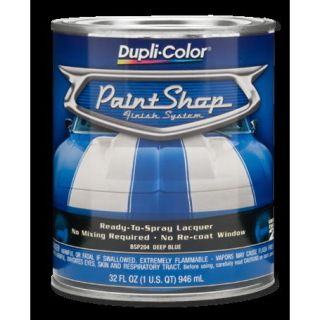 DUPLICOLOR PAINT SHOP CLEAR COAT LACQUER RTS 1 QUART