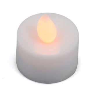 New Electric Yellow Color Romantic LED Flameless Candle Night Light