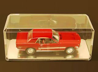 Acrylic Display Case W/Mirror 118 Scale Oversize for Model Cars