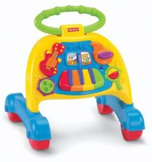 FISHER PRICE BRILLIANT BASIC MUSICAL ACTIVITY WALKER