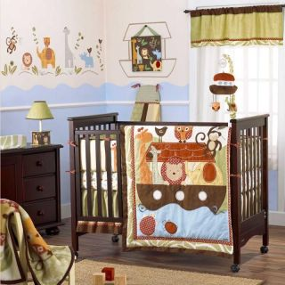 Neutral Baby Crib Bedding Set (Boy, Girl, Animals, Discount Nursery