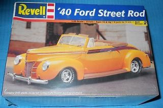 1940 Ford Convertible Street Rod 132 Parts FS ## Model Car Swap Meet