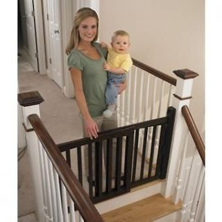 Safety 1st Espresso Swing Baby/Kid/Pet Security Gate