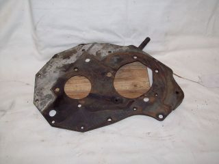CHEVY GM OEM 216 6CYL 6 ENGINE MOTOR LOWER BOTTOM MOTOR MOUNT PLATE