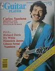 Guitar Player Magazine June 1978 Carlos Santana