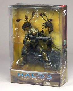 Various Halo 3 Legendary Collection Statue Figure Master Chief Arbiter