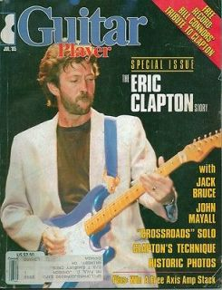Guitar Player Magazine July 1985 Special Clapton Issue Jack Bruce John