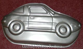 WILTON SPORTS CAR CAKE PAN MOLD +INSERT COPY MOLD TIN RACE