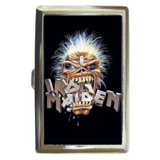 New Cigarette Money Case Iron Maiden Metal Rock CMC048