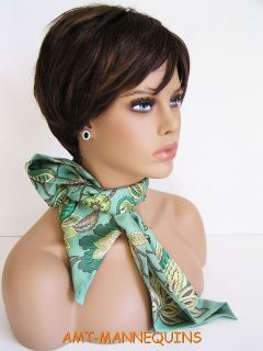 mannequin heads display wigs hats scarves jewelry, dummy head   FO