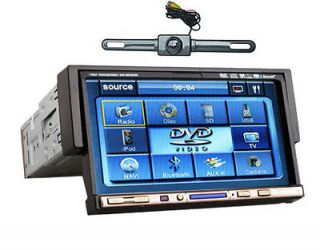 Touch Screen In Dash Auto CD Car DVD Player AM FM USB Speaker