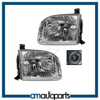 Toyota Pickup Truck Headlights Headlamps Pair Set Left LH & Right RH