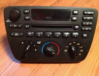 2001 2003 Ford Taurus Sable CD Player Radio 2F1T 18C858 DA in working