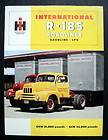 1953 AD INTERNATIONAL HARVESTER IH R 110 R 120 PICKUP TRUCKS BUILT