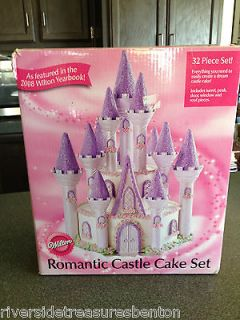 Wilton Romantic Castle Cake Set Princesses Fairy Tale Decorating Kit