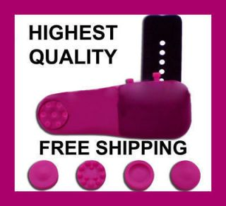 FULL BODY Pink Personal Finger Massager Head Neck Back Foot Leg Muscle