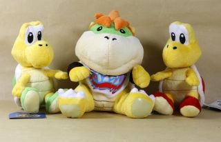 Newly listed BOWSER KOOPA TROOPA 6 7 SUPER MARIO BROS PLUSH DOLL LOT