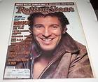 BRUCE SPRINGSTEEN ROLLING STONE #494 FEBRUARY 26 1987 THE BOSS