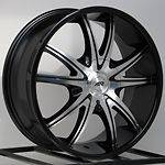 18 Inch Black Rims Wheels Chevy Silverado Tahoe Truck Avalanche GMC