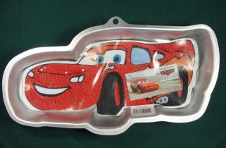 WILTON CARS LIGHTNING McQUEEN DISNEY PIXAR CAKE PAN MOLD INSTRUCTIONS