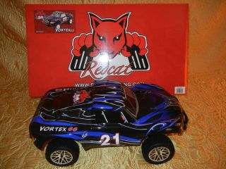 VORTEX SS 1/10 NITRO 4X4 BLUE DESERT TRUCK ~ POWERFUL SH 18 ENGINE
