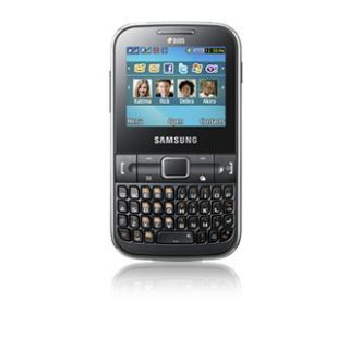 Samsung Chat 322 Black Unlocked dual sim card Phone Pickup $99 CALL
