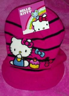 hello kitty hats in Clothing,
