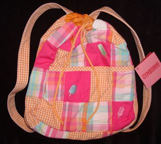 Gymboree Popsicle Party Patchwork Backpack Bag Purse 3 4 5 6 7 8 9 10