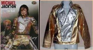 Michael Jackson History World Tour Golden Jacket+Pant
