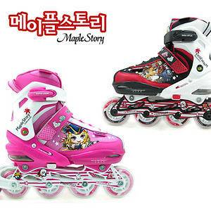 Hmall Korea New Kids Children Youth QUAD INLINE SKATES Rollerblade