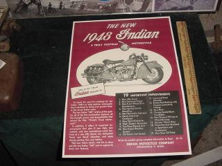 indian scout motorcycle in Parts & Accessories