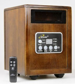 iLiving Infrared Space Quartz Heater 1500W by Dr Infrared Heater 2X