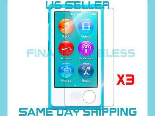 APPLE iPOD NANO 7   Anti Scratch LCD Screen Protector Cover   CLEAR
