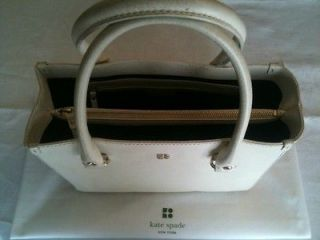 Kate Spade Quinn Tarrytown Authentic Off White leather purse handbag