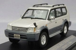 43 Hi Story Model Toyota Land Cruiser Prado 5DOOR TZ 1996 White